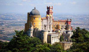 Palast Pena Sintra Portugal