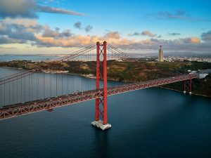 Brücke vom 25 April Lissabon